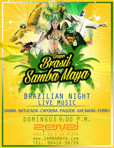 Brasil Samba Maya